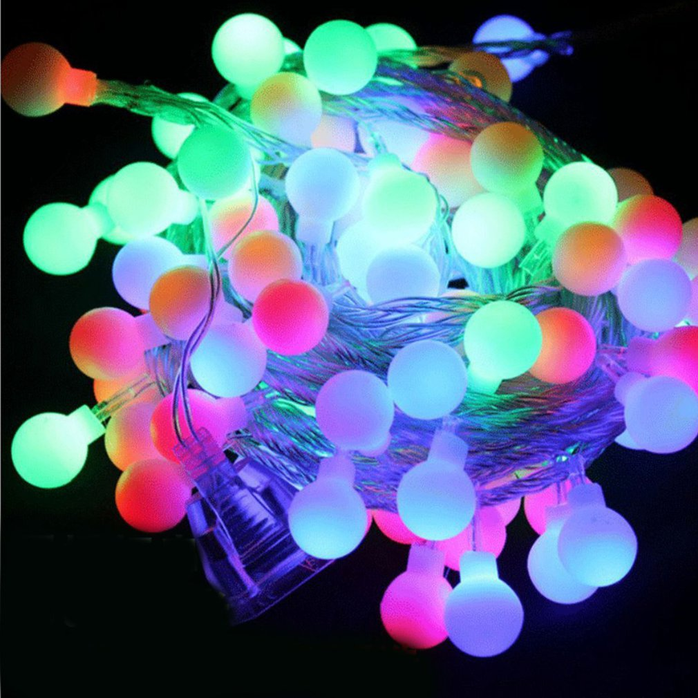 LED String Fairy Light Snowflake Xmas Tree Christmas Party Home Decor