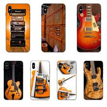 Soft TPU Case Capa Cover Orange Guitar Electric Amp Amplifier For Xiaomi Redmi Note 2 3 4 4A 4X 5 5A 6 6A 7 Go Plus Pro S2 Y2(China)