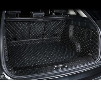 lsrtw2017 fiber leather car trunk mat for Range Rover Velar 2018 2019