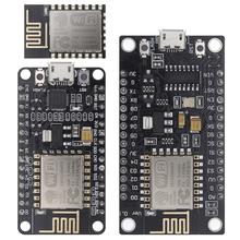 CH340 CP2102-bezprzewodowy moduł model NodeMcu V3 V2 Lua Wi-Fi Internet rzeczy płyta wzorowana na ESP8266 ESP-12E z anteną pcb tanie tanio TENSTAR ROBOT CN (pochodzenie) Nowy Regulator napięcia Komputer