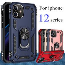 Para o iphone 12 pro caso max mini 5g 2020 suporte iphone12 12mini 12pro eu telefone iphone12case 12 caso capa kickstand metal