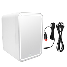Refrigerator Makeup-Fridge-Mirror Skin-Care-Mask Cosmetics Electric-Cooler Mini Portable