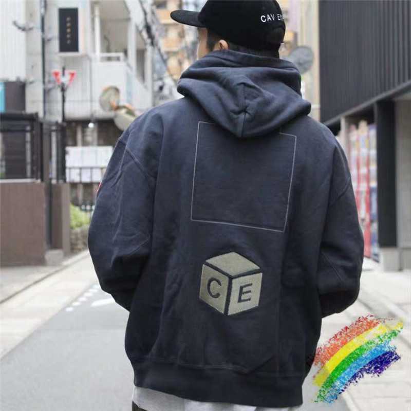 2020 CAVEMPT Hoodie Pullover Men Woman 1:1 Best Quality CAVEMPT Embroidery Casual Hip-hop Cav Empt C.E19AW Hooded