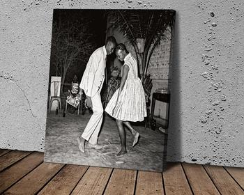 Modern Simple Art Canvas Malick Sidibe Poster Wall Decoration Corridor Decoration Room Decoration image
