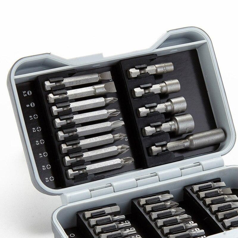 Купить с кэшбэком 37 in1 multi-function screwdriver drill set woodworking power tools set herramientas para carpinteria  socket set