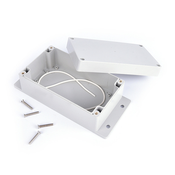 158*90*65mm Waterproof Plastic Enclosure Box Electronic Project Instrument Case  Outdoor Junction Box Housing DIY szomk electronic project enclosure junction box 1 pcs 260 220 80mm plastic box enclosure desktop electric distribution box