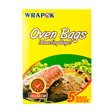 WRAPOK Oven Cooking Turkey Bags Medium Size Ribs Baking Roasting Bags No Mess For Chicken Meat Ham Poultry Fish Seafood Vegetabl hawksmoor at home meat seafood sides breakfasts puddings cocktails