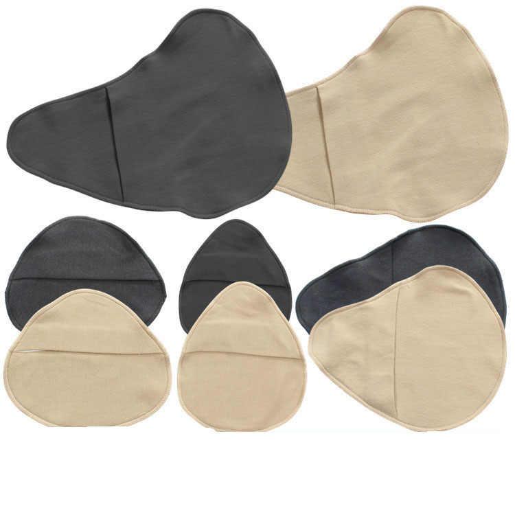 1 ud. De algodón ligero de látex de silicona absorbente para el sudor de las prótesis mamarias manga de protección después de la cirugía mamaria
