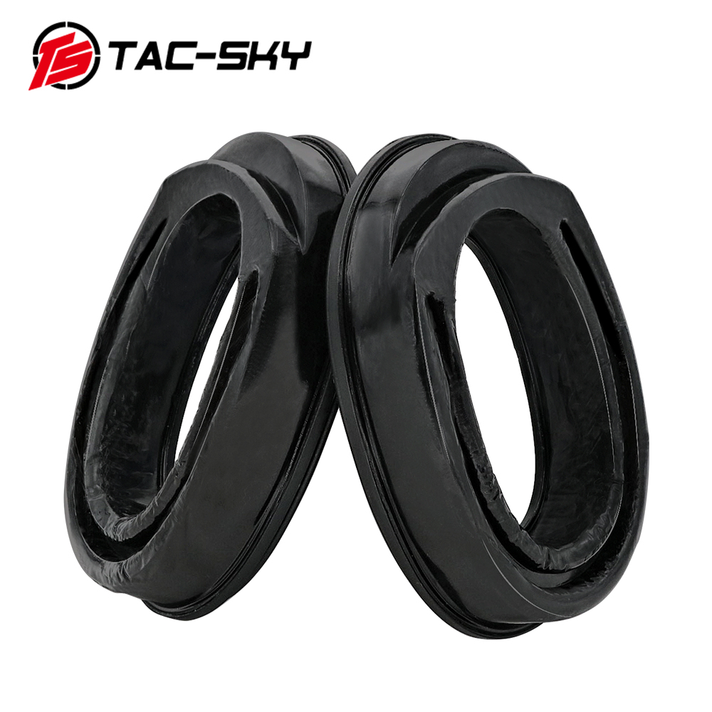 TAC-SKY Sight Silicone Earmuffs For MSA Sordin Headset Can Also Be Used For TCI Liberation And TEA-Threat Tier Tactical Headset