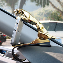 Car Leopard Dashboard Phone Holder 360 Degree Phone Mount Cl
