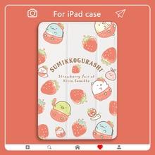 Cute Cartoon For iPad Case 7th Generation Pro 11 Case 2020 Mini 5 Air 2 Pro 12.9 Funda 2018 PC Cover Pig Watermelon 10.5 Air 3