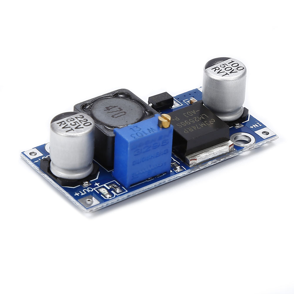 LM2596 ADJ DC-DC Converter Power Supply Adjustable Step-down Voltage Regulator 7