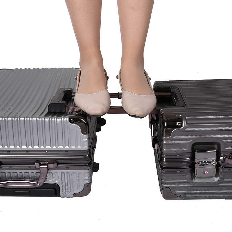 2019 алюминиевый каркас материал TSA замок с паролем Универсальный чемодан с колесом 20/24 дюймов Большая емкость Защита от падения