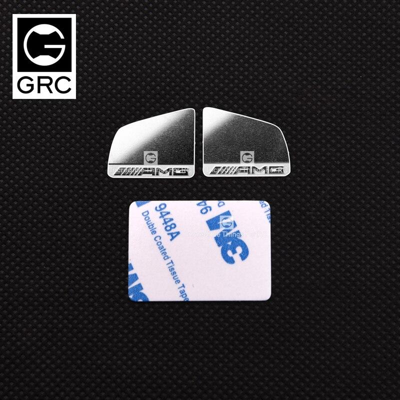 Für Traxxas TRX4 TRX6 Benz G63 G500 Auto Crawler 1:10 Rückspiegel Sheet Metall