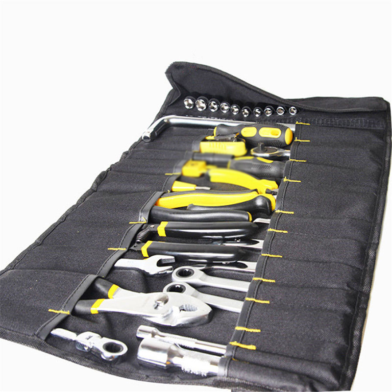 1pcs Motorcycle Storage Bag Mixed Wrench Spanner Socket Package Holder Tool Kit