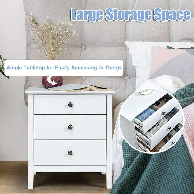 Accent Table Organizer W/3 Drawers  5