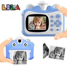Pickwoo Kid Toy Мини-цифровая камера для детей детский фотоаппарат детский с мгновенной печатью Детские игрушки Подарок на день рождения для дево...