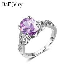 Balijelry Модные кольца для женщин 925 Серебряное ювелирное