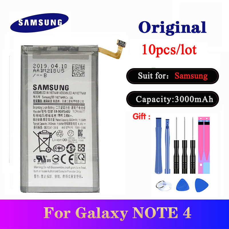 10pcs/lot EB-BG970ABU Orginal Battery For Samsung Galaxy S10 E <font><b>G9700</b></font> <font><b>SM</b></font>-G970F/DS <font><b>SM</b></font>-G970F <font><b>SM</b></font>-G970U <font><b>SM</b></font>-G970W image