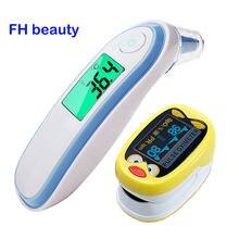 Oxímetro De Pulso para Dedo para niños, medidor De saturación De SpO2, para oreja y Frente, K1 IRT1