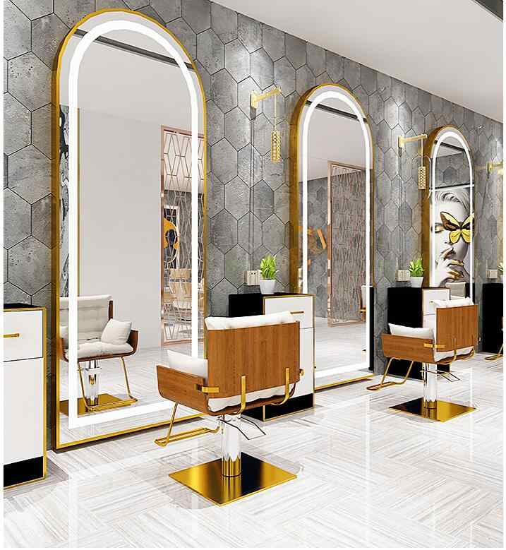 Beauty Salon Mirror Stage Barber
