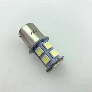Image 1 - רכב מהבהב בלם אור להדגיש 5050smd רכב Led היגוי היפוך אור 1156/1157 13 אור Led