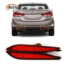 2Pcs For Hyundai Elantra 2012 Car LED Tail Light R
