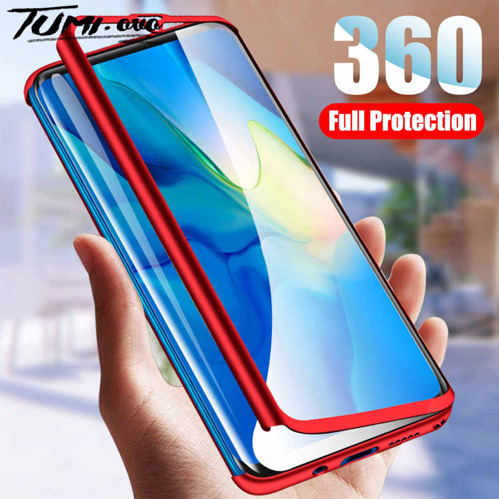 360 Degree Full Body Shockproof Phone Case For Huawei P30 Pro P20 Lite 2019 Protective Cover For Huawei P10 P9 Plus P8 Lite 2017