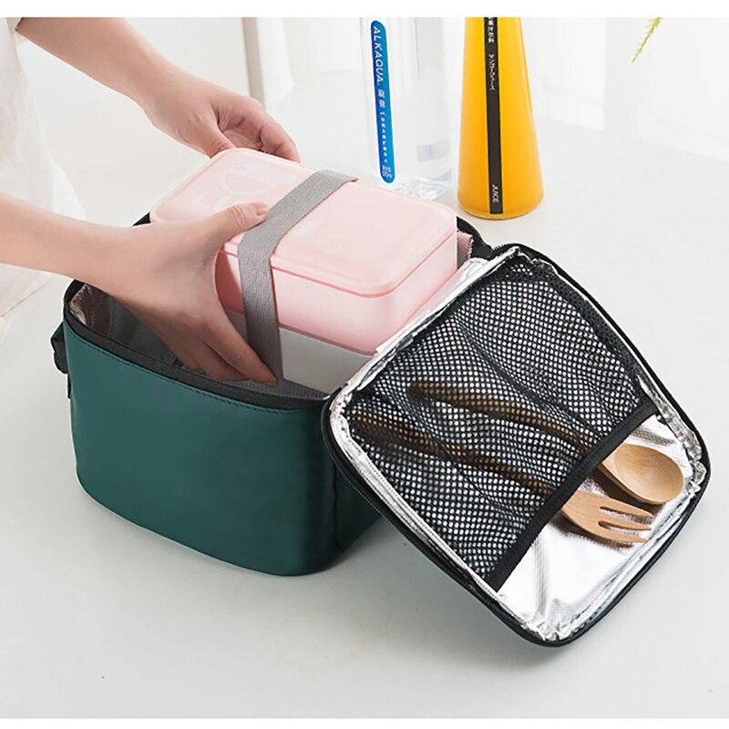 isotherme saco de almoço térmico isolado portátil quente para crianças