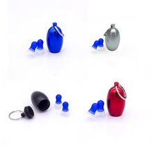 1 Pair Anti-Noise Ear Protectors Noise Cancelling Ear Plugs Waterproof Soft Silicone Earplugs For Sleeping Swimming Flight 1pair 3m 1270authentic anti noise silicone waterproof soft ear plugs noise reduction sleeping swimming travelwork ear protective