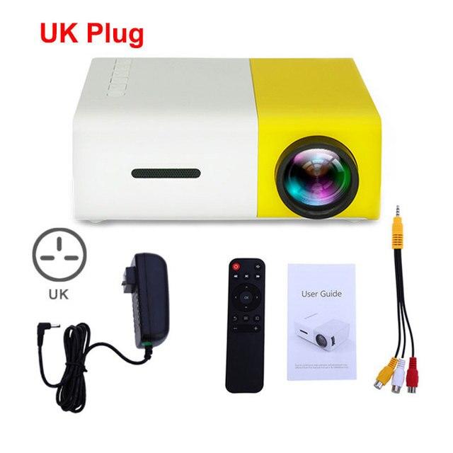 Yellow UK Plug