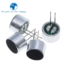 TZT 10 PCS/LOT 9x7mm 9767 Microphone Electret Microphone with 2 pin pick-up