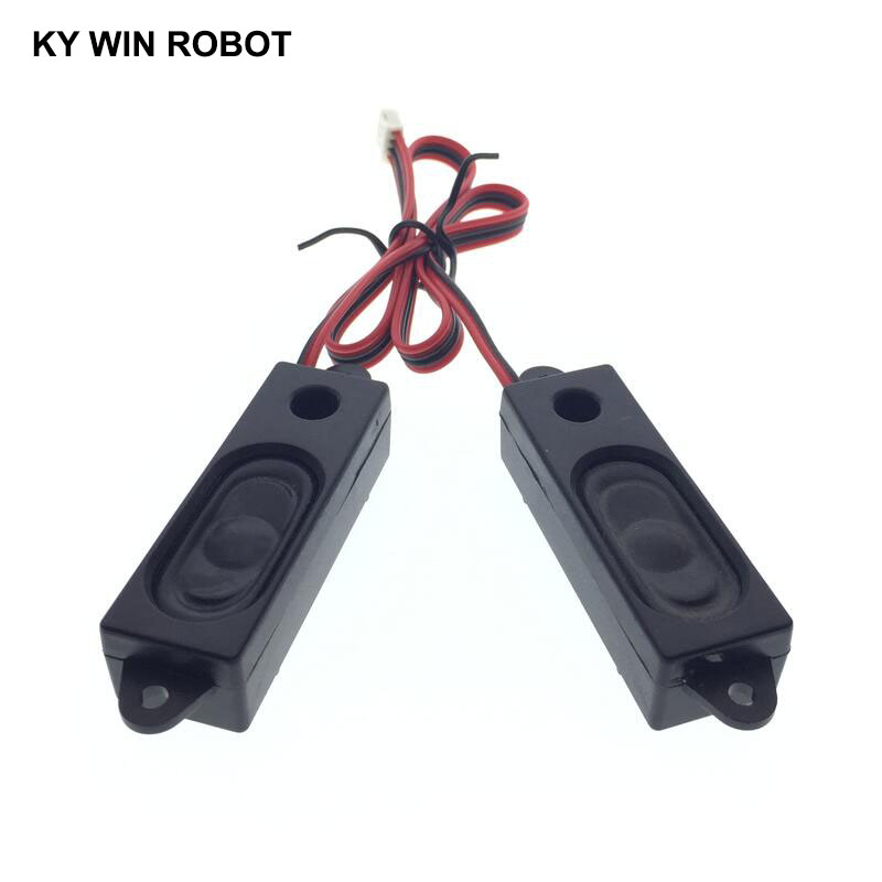 2PCS/Pair LCD Monitor/TV Speaker Horn 2W 8R 1853 5318 Loud Speaker 8 Ohms 2Watt 8R 2W 18*53MM Thickness 18MM