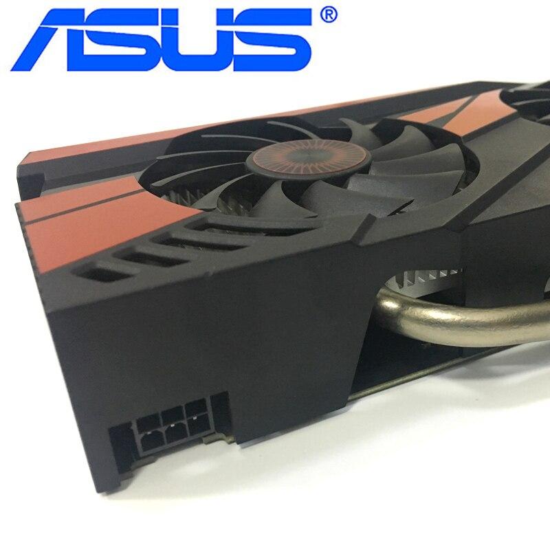 Видеокарта ASUS GTX 960 бывшая в употреблении, 128-битные видеокарты с памятью GDDR5 2 ГБ, выходами VGA и HDMI и поддержкой процессоров nVIDIA Geforce GTX960, GTX 750, Ti 950, 1050, 1060-2
