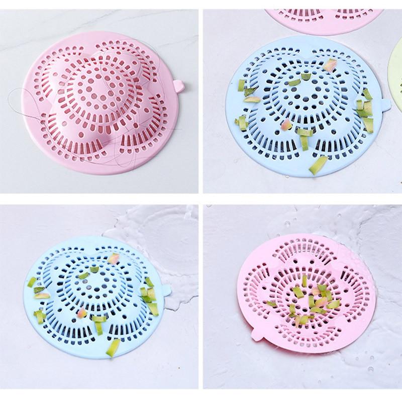 Kitchen Sink Strainer Drain Hole Filter Bath Sink Drain Waste Screen Anti Clogging Drain Pool Sink Sewer Debris Filter