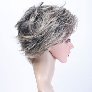 Image 4 - MUMUPI synthetic  Short curly wig hair extension pixie Cut Wig for Women High Temperature Fiber Wig Fashion Lady Wig