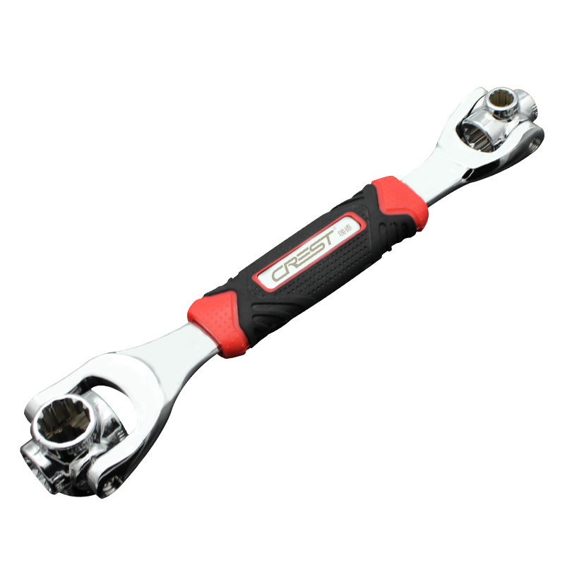 Socket Wrench Versatile Manual Maintenance Hardware Tools Multi-functional Multi-Purpose Casing Head Combination Nut Disassembly