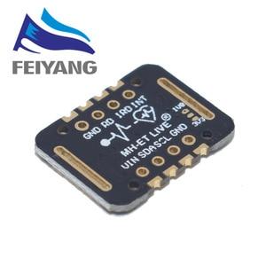 Image 2 - 10PCS MH ET לחיות MAX30102 קצב לב חיישן מודול Puls זיהוי דם חמצן ריכוז מבחן עבור Arduino במיוחד נמוך כוח