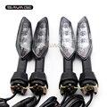 Traseiro led turn signal lâmpada de luz para kawasaki z 250sl/750/1000/1000sx ER-6F er6f z1000sx z250sl motocicleta indicador pisca