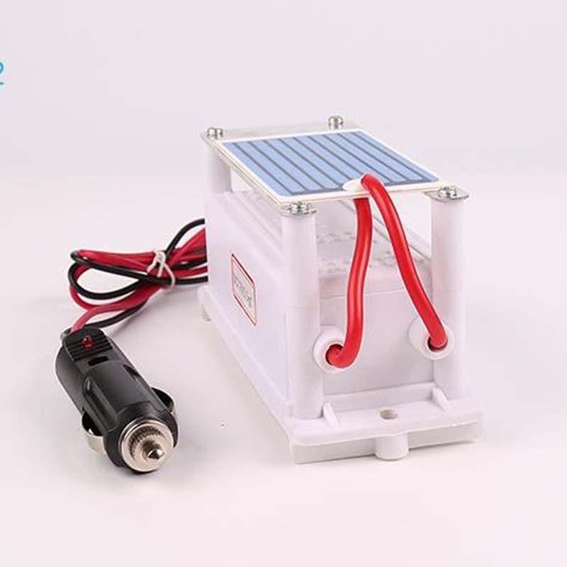 3.5g 5g / H DC12V Portable Ozone Generator Integrated Ceramic Ozonizer