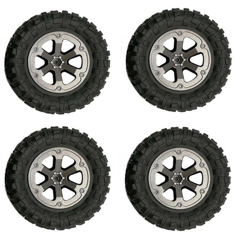 4PCS Upgraded Big Wheel For WPL FJ40 C34 RC Car 1/16 4WD 2.4G Buggy Crawler Off Road 2CH RC Vehicle Models Parts
