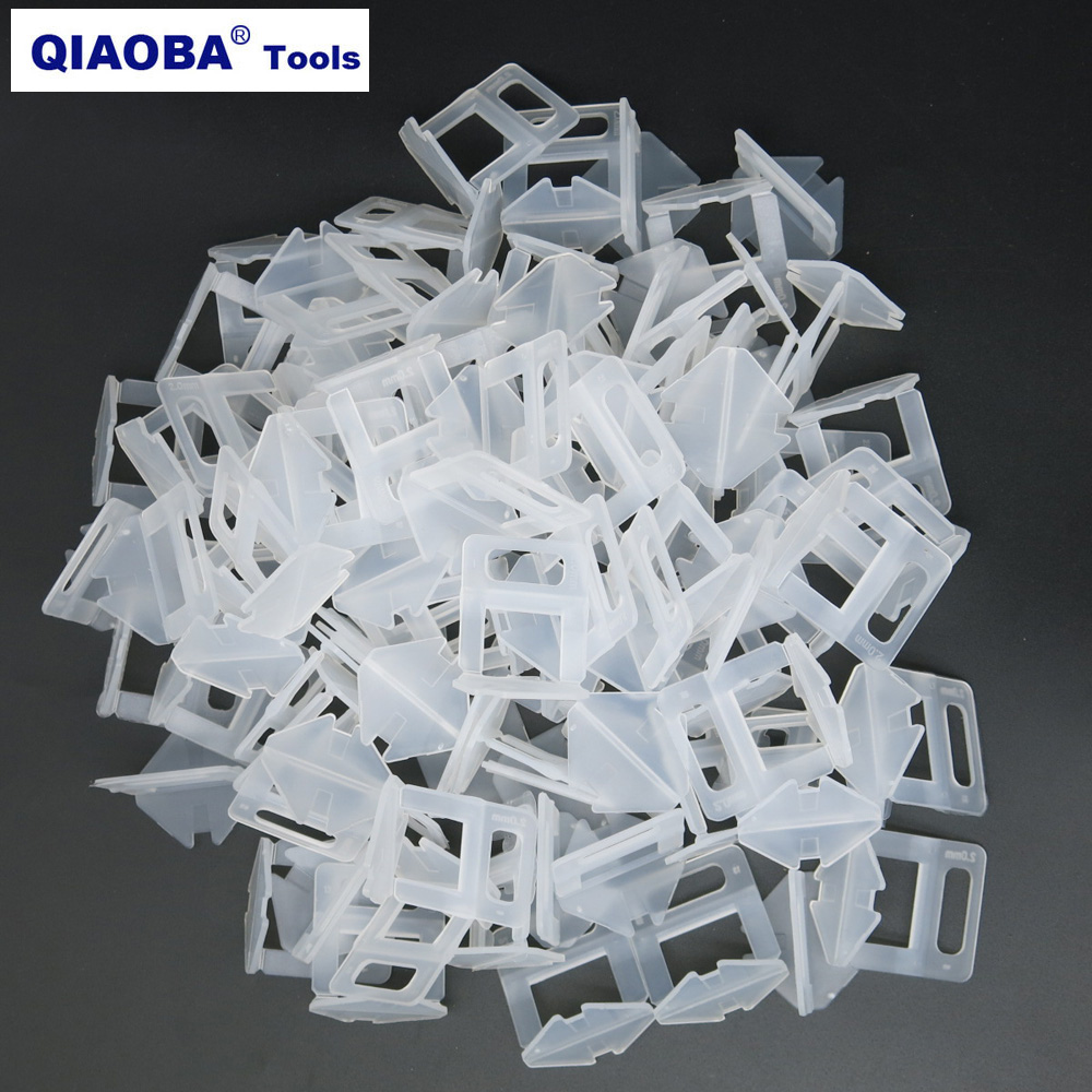 2mm Tile Clips Ceramic Tile Spacer Pack Of 200pcs Tile Leveling System