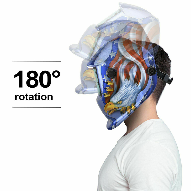 Hood Welder Mask ANSI Z87.1 Well-adjusted CR2032 Solar Protector Auto Darkening Helmet Pro Filter Mig