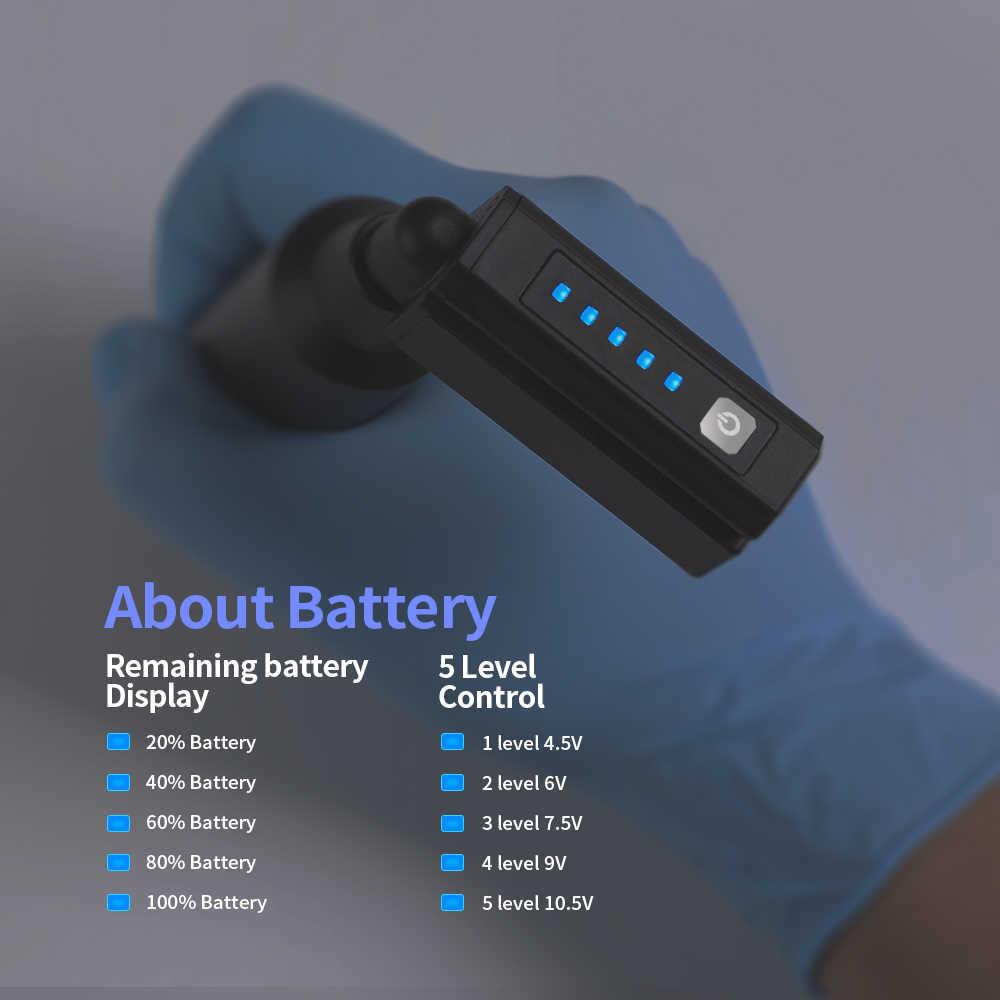 جديد لاسلكي الوشم امدادات الطاقة المصغرة 1500mAh RCA/تيار مستمر الحبل بطارية مهنية للوشم الروتاري القلم الوشم دواسة القدم