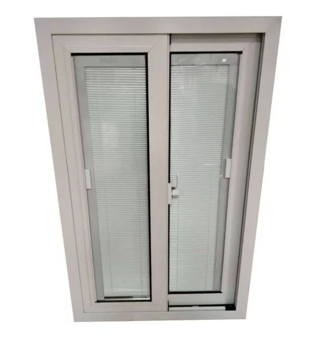 Upvc Built-in Shutters Sliding Windows