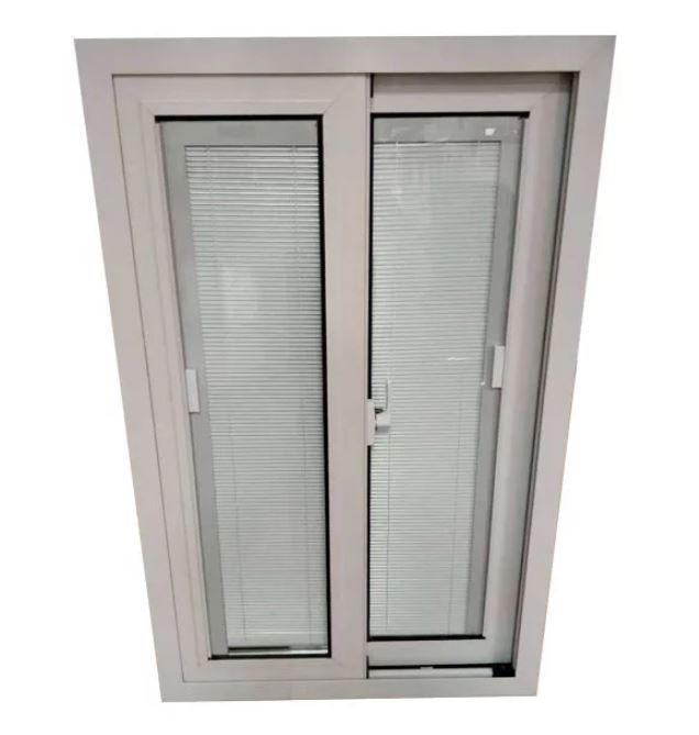 Upvc Built-in Shutters Sliding Windows