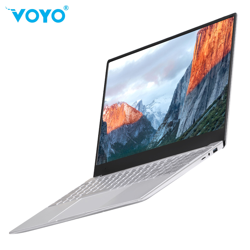 New 15.6 In Netbook VOYO I7 Youth Windows 10 Laptop Intel Celeron J3455 8G 128G/256G/512  IPS 1920*1080 Notebook Ultrathin Netbo