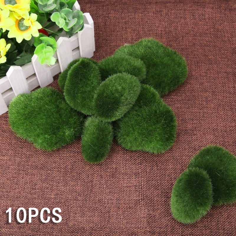 Micro Landscape Wall Artificial Moss Grass Plant Lawn Decorations for Fish Tank