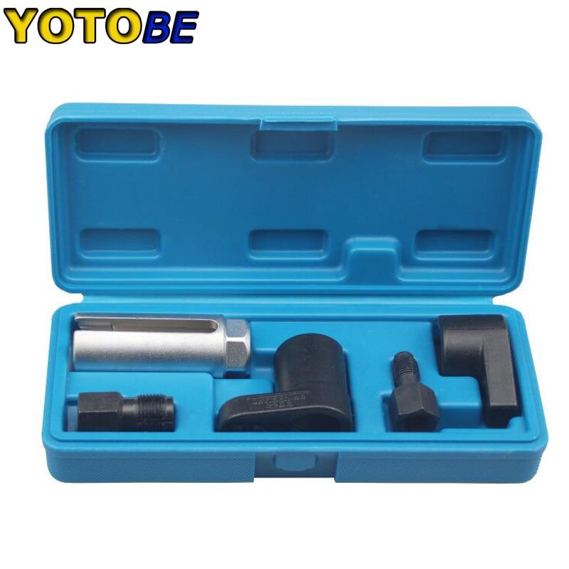 5pcs Oxygen Sensor Socket Spark Plug Thread Chasers Sensor Sockets Set