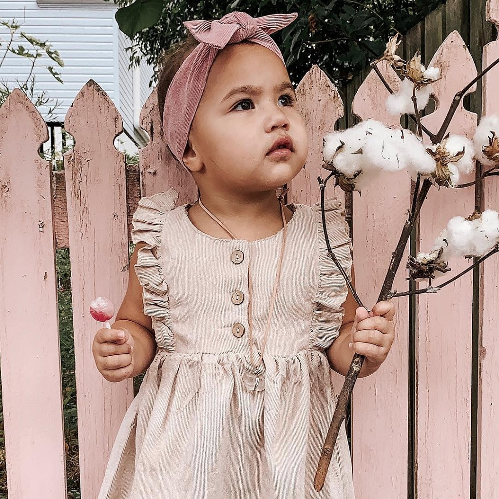 Baby Summer Clothing Toddler Baby Girl Solid Dress Ruffles Sleeveless Princess Casual Dress A-Line Party Lace Sundress 1-6Y